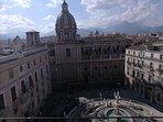 Vista del centro storico di Palermo -