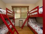Double Twin Bunk Beds!