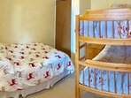 Bedroom 3 - Bunk and Double Bed