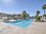 Community amenities await such as pools, hot tubs, tennis courts and more!