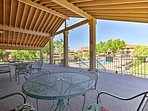 Tour the Dixie State University campus just 10 minutes from this condo.