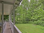 Enjoy peaceful sounds of nature at this vacation rental home in Fayetteville!