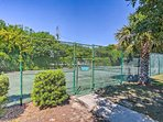 You'll even have access to the neighborhood tennis courts.