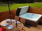 Private Hot Tub with woodland view