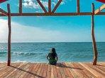 Cabana Relaxing area