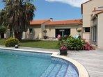 4 bedroom Villa in Saint-Génis-des-Fontaines, Occitania, France : ref 5518572