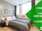 James · 3 bedrooms aprt Cote des Neige, 20min downtown