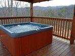Hot Tub at Four Seasons Lodge