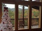 Christmas Decor at Four Seasons Lodge