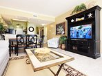 Living Room Waters Edge Resort Unit 412 Fort Walton Beach Okaloosa Island Vacation Rentals