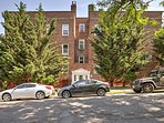 The condo is located just steps from the Hudson River!