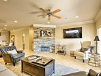 This 1,600-square-foot unit comfortably sleeps 5 lucky guests.