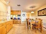 There's plenty of room to spread out in this 1,200-square-foot condo.