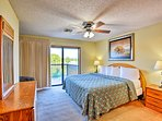 Two king bedrooms complete this resort condo.