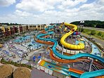 about a 40 min drive is Kalahari, the largest in/outdoor park in the Northeast