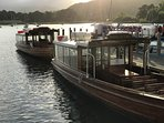Take a Lake Cruise from Brockholes and visit WRAY CASTLE & Ambleside