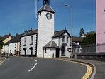 Laugharne Town Hall.