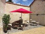 Mexican sun terrace in Courtyard