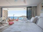 Wake up in your king size bed with this spectacular view!!