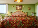 After a fun day at the beach your comfy King Size Bed with luxury linens awaits.
