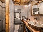 Salle d'eau, douche Italienne 'Flocon'