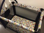 Playpen available in the main bedroom closet.