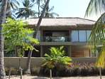 Newly built 2 level, 3 bedroom villa set in a coconut plantation with ocean views.