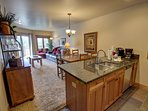 Fully equipped, updated kitchen!