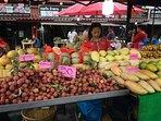 Plentiful fresh fruit for sale