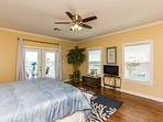 TV w/cable & just redecorated w/new upscale decor, furniture, mattress & bedding