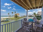 Exceptional view from main covered balcony off of main living area.