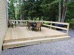 Brand new back deck