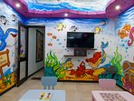 Ultra modern and luxurious villa with children playroom and private pool