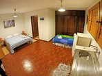 Standard Triple Studio with one couple bed + one single bed