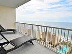 Gulf View Balcony