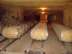 St Emillion wine caves