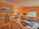 Run away to Como and stay at this vacation rental cabin!