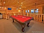 Lofted Game Room at Gone To Therapy