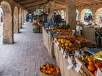 Check out the local farmers market with Ultra fresh organic food