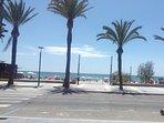 Playa Poniente a 200mts
