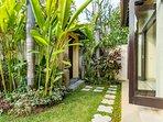The garden of Villa Delice
