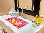 Bathroom 2 with single wash basin