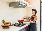 The housekeeper staff Ms. Lely could be also prepare your breakfast in the villa