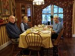 Revolutionary war antique dinning