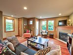 This 1,740-square-foot residence comfortably sleeps 6, with room for 2 kids!