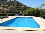 Large 10m x 5m pool