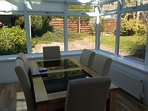 Consevatory/Dining Area with Stunning Garden Views