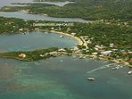 Located in Half Moon Bay, West End, Roatan