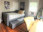 Double over Twin Trundle Bed and Desk