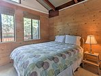 The 'Sunset Room' also boasts a queen mattress.